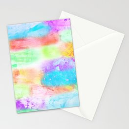 Splashes of Happiness Stationery Cards