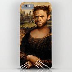 Hugh Jackman Mona Lisa Face Swap iPhone 6s Plus Slim Case