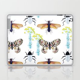 Watercolor Insects Laptop & iPad Skin