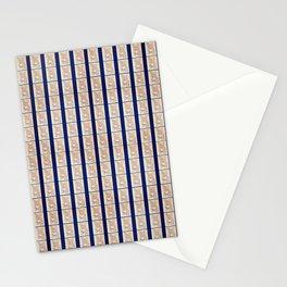 French Bulldog inspired patterns Stationery Cards