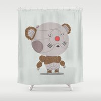 thundercats Shower Curtains featuring Ro-Bear-Bill by Rod Perich