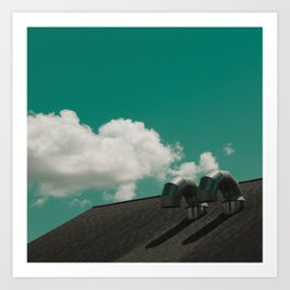Cloudwork Art Print