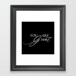 Reminder Framed Art Print