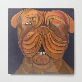 Big Dog Metal Print