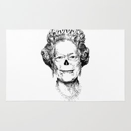 The Warming Dead! The Queen. Rug