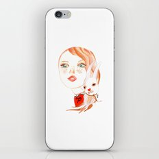 Real Beauty is without Cruelty iPhone & iPod Skin