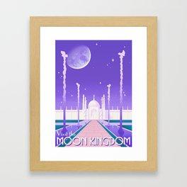 Visit the Moon Kingdom / Sailor Moon Framed Art Print