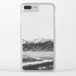 THE MOUNTAINS XIV Clear iPhone Case