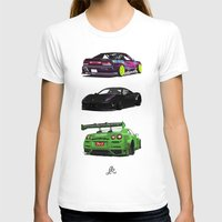 cars T-shirts featuring Vectored Cars by Joker Designs