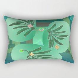 Chlorofyll Bank Station Rectangular Pillow