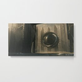Ancient Extraterrestrial Technology Metal Print