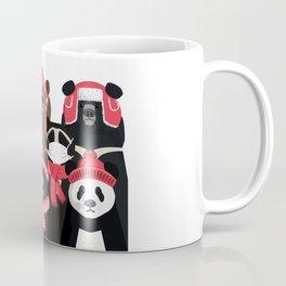 Bear family portrait: winter edition Coffee Mug