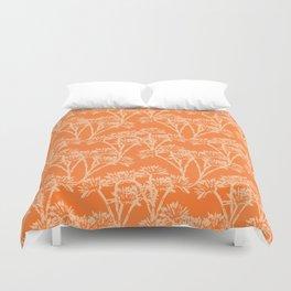 Agni (Orange) Duvet Cover