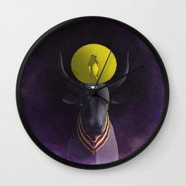 Apis Bull - God of Egypt Wall Clock