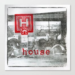 H is for house Canvas Print