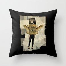 Mrs. Kafka Throw Pillow