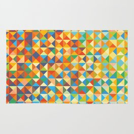 Triangles & Colors Rug