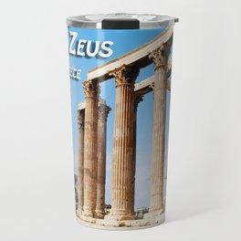 Temple of Olympian Zeus - Athens Greece Travel Mug