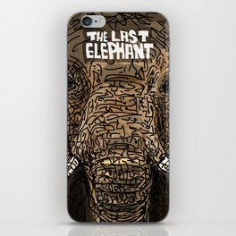 The Last Elephant iPhone Skin