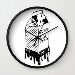 LAIT/MILK Wall Clock