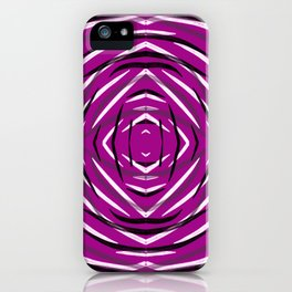 Purple in a Circle iPhone Case