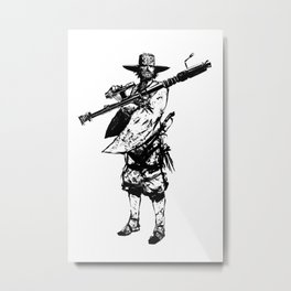 Northerner Metal Print