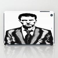 tyler durden iPad Cases featuring Tyler Durden by Shahbab