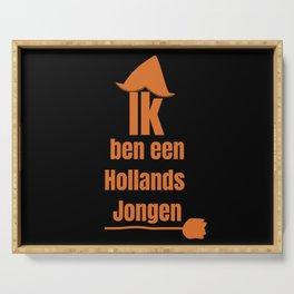 Ik ben een Hollands Jongen - I Am A Dutch Boy Serving Tray