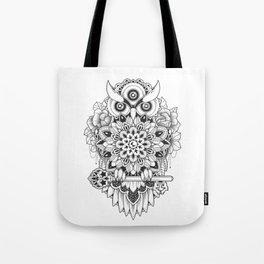 Bird of Wisdom Tote Bag