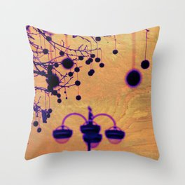 Disco Lamp Throw Pillow