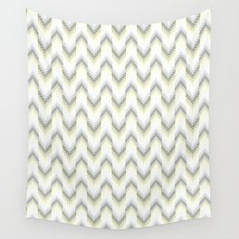 Delicate zigzag pattern. Wall Tapestry