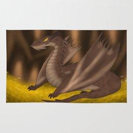 Dragon's hoard. Rug