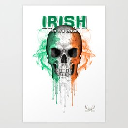 To The Core Collection: Ireland Art Print