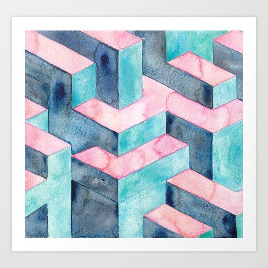 Illusions  Art Print