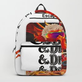 Escape from Flavortown - dungeons dragons Backpack
