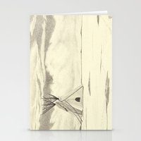 plain Stationery Cards featuring Lonely Plain by Ursula Rodgers