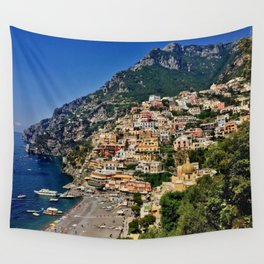 Positano's coast Wall Tapestry