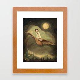 Flying By Night Framed Art Print