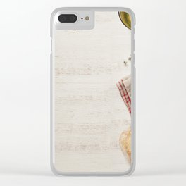 healthy sandwiches Clear iPhone Case