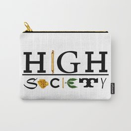 High Society Logo2 Carry-All Pouch