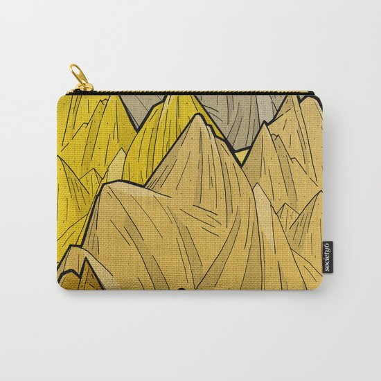 The Golden Mountains Carry-All Pouch
