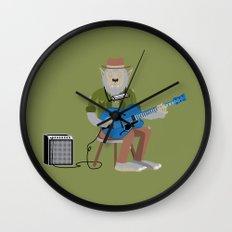 Werewolf Blues Wall Clock