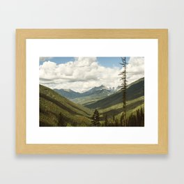The Great Green Unknown Framed Art Print