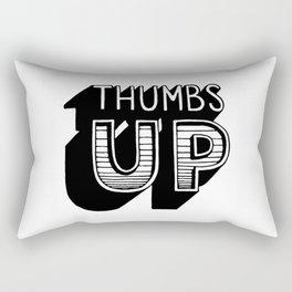 Thumbs up Rectangular Pillow