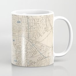 Vintage Map of Somerville MA (1910) Coffee Mug