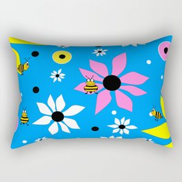 Springtime Bloom Rectangular Pillow