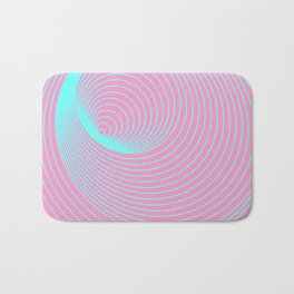 Frequent Repeating Rings Bath Mat