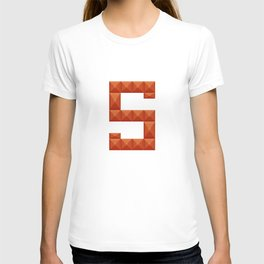 """Letter """"S"""" print in beautiful design Fashion Modern Style T-shirt"""