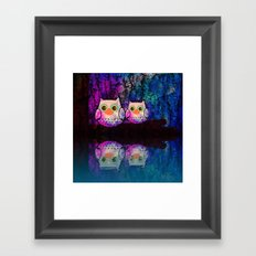 owl-145 Framed Art Print