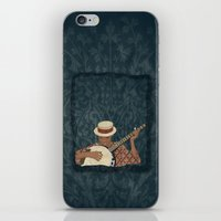 banjo iPhone & iPod Skins featuring Banjo by Aquamarine Studio